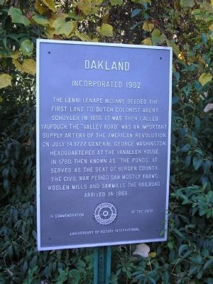 Oakland Marker image. Click for full size.