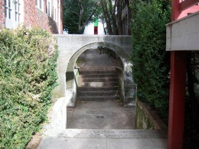 Walkway at Mount Saint Mary's Convent and Academy image. Click for full size.