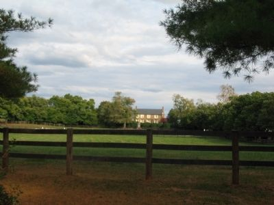 """Chestnut Lawn"" as seen from the Road image. Click for full size."