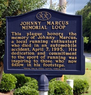 Johnny Marcus Memorial Loop Marker image. Click for full size.