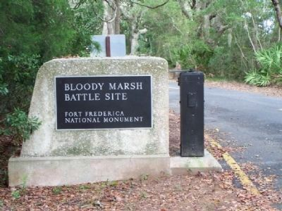 Bloody Marsh Battle Site image. Click for full size.