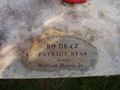 Patriot Bear image. Click for full size.
