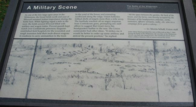A Military Scene Marker image. Click for full size.