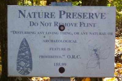 Nature Preserve Marker image. Click for full size.