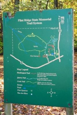 Flint Ridge Trail System Marker image. Click for full size.
