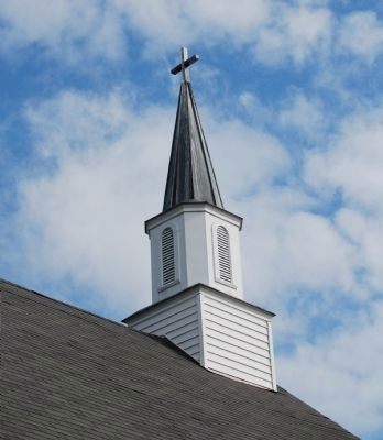 Chestnut Hill Baptist Church - Steeple image. Click for full size.