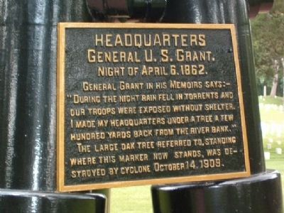 Grant's Headquarters Marker image. Click for full size.