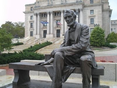 The Seated Lincoln image. Click for full size.