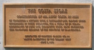 The Costa Store Marker image. Click for full size.
