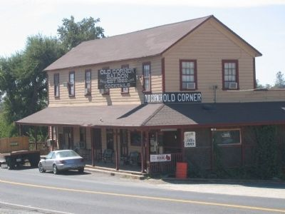 Old Corner Saloon image. Click for full size.