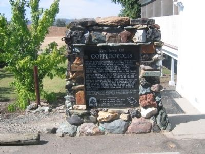 Copperopolis Marker image. Click for full size.