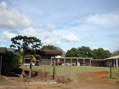 Kōloa Jodo Mission Entrance and Marker image. Click for full size.