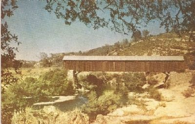 O'Bryne Ferry Covered Bridge image. Click for full size.