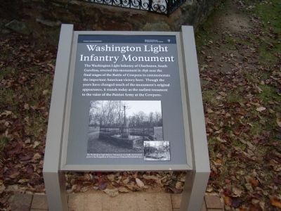 Washington Light Infantry Monument Marker image. Click for full size.