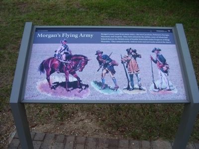 Morgan's Flying Army Marker image. Click for full size.