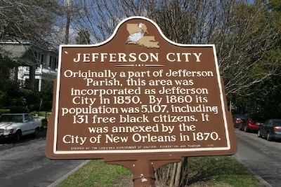 Jefferson City Marker image. Click for full size.