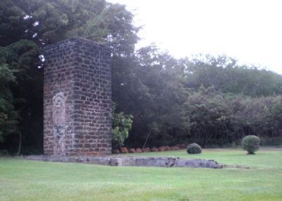 Ladd & Company Sugar Mill Ruins image. Click for full size.