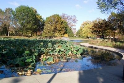 Goodale Park Pond image. Click for full size.