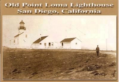 View of Lighthouse, Circa 1880's image. Click for full size.