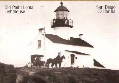 View of Lighthouse, Circa 1888 image. Click for full size.