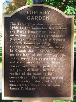 Topiary Garden Marker image. Click for full size.