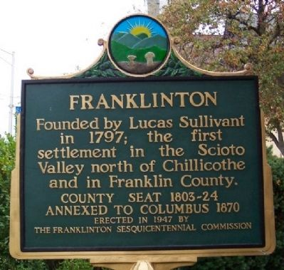 Franklinton Marker image. Click for full size.