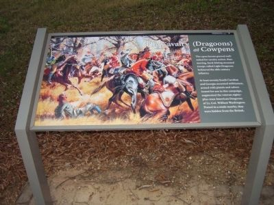 The Cavalry at cowpens Marker image. Click for full size.