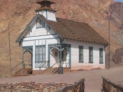 Calico's School House image. Click for full size.