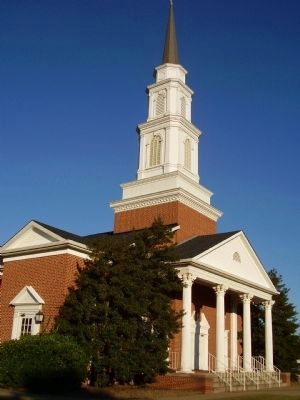First Baptist Church, Cowpens image. Click for full size.