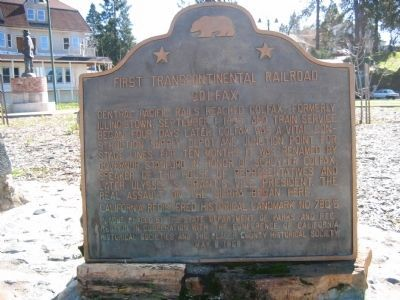 Colfax Marker image. Click for full size.