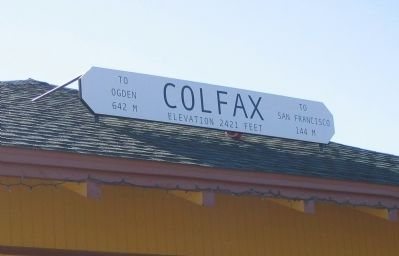 Colfax Station image. Click for full size.