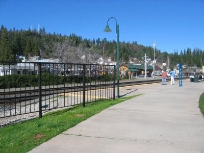Town of Colfax Looking from the AMTRAK Station image. Click for full size.