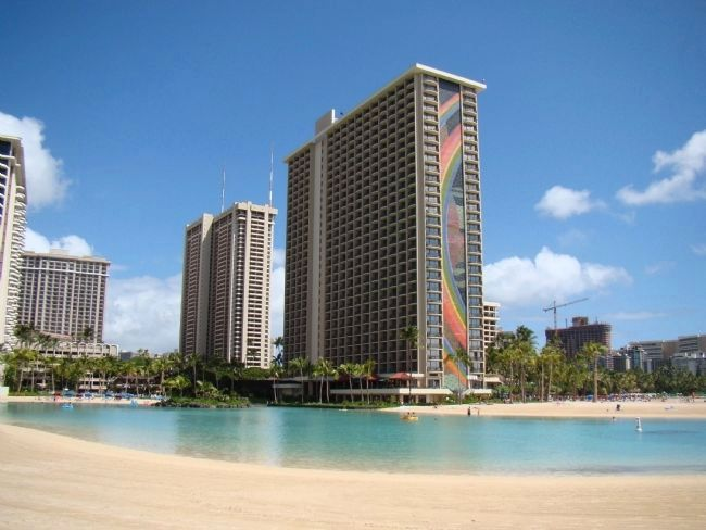 Hilton Lagoon & Rainbow Tower image. Click for full size.