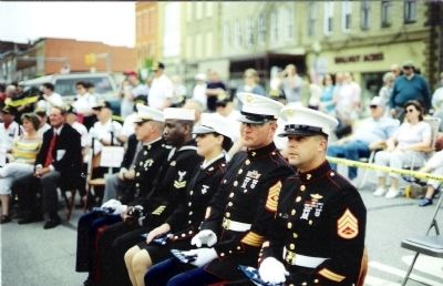Marine Honor Guard - from - Grissom Air Base of Peru, Indiana image. Click for full size.