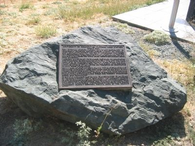 University of California Foothill Field Station Marker image. Click for full size.