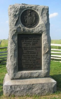 10th Independent Battery New York Light Artillery Monument image. Click for full size.