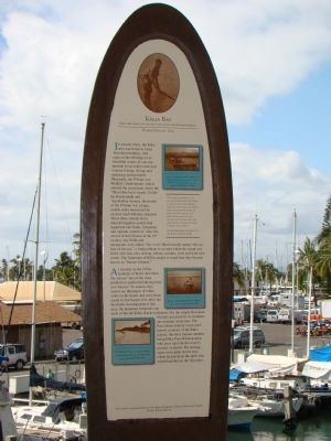 Kālia Bay Marker image. Click for full size.