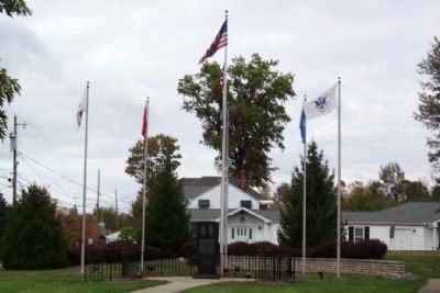 Westerville Veterans Memorial image. Click for full size.