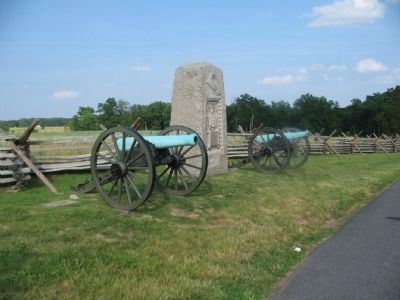 Ninth Massachusetts Battery First Position image. Click for full size.