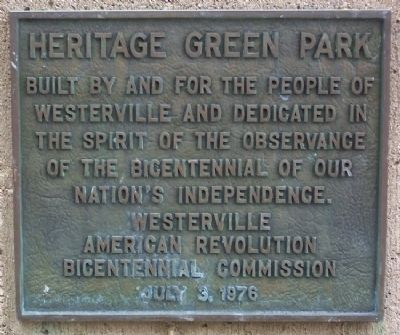 Heritage Green Park Marker image. Click for full size.