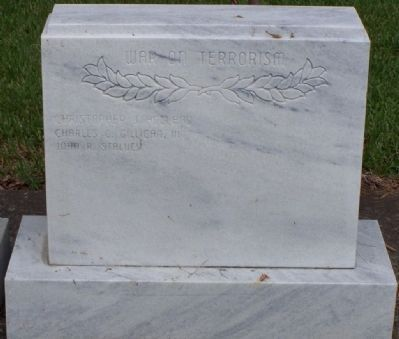 Glynn County War Memorial Marker - War on Terrorism Tablet image. Click for full size.