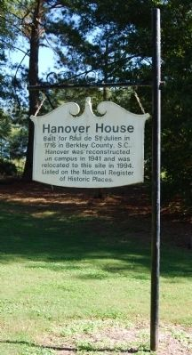Hanover House Marker - Original Location image. Click for full size.
