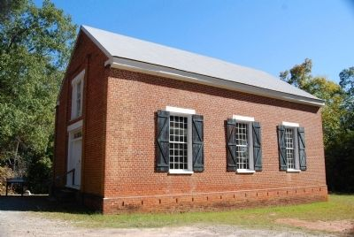 Old Pickens Church - South Side image. Click for full size.