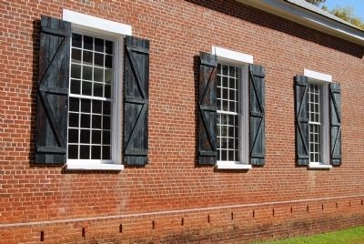 Old Pickens Church - Window Detail image. Click for full size.