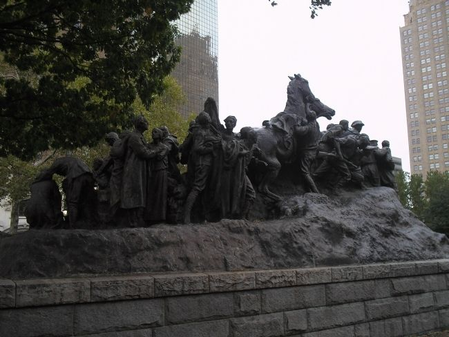 The Wars of America Monument image. Click for full size.