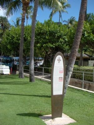 Duke Kahanamoku Marker image. Click for full size.