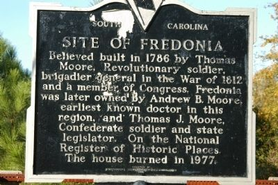 Site of Fredonia Marker image. Click for full size.