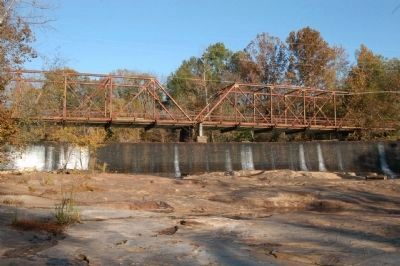 Old Glendale Bridge and Dam image. Click for full size.