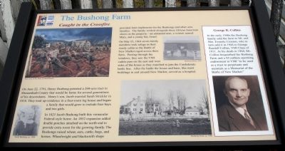 The Bushong Farm Marker image. Click for full size.