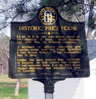 Historic Price House Marker image. Click for full size.